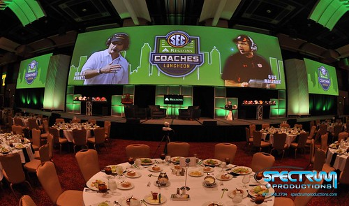 """Audiovisual Production Atlanta SEC Coaches' Luncheon 2013 • <a style=""""font-size:0.8em;"""" href=""""http://www.flickr.com/photos/57009582@N06/11241951546/"""" target=""""_blank"""">View on Flickr</a>"""