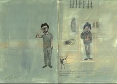 daily life. nov // guck mich nicht so an bitte guck mich nicht so an (Anna Karetnikova) Tags: selfportrait art illustration diary sketchbook