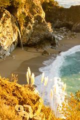 Julia Pfeiffer State Beach (oneirsm) Tags: beach waterfall bigsur pch us1 pfeifferbeach ca1 sunsetatthebeach juliapfeifferstatebeach juliapfeifferburnsstatebeach