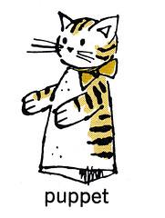 cat puppet (Al Q) Tags: cat children puppet highlights