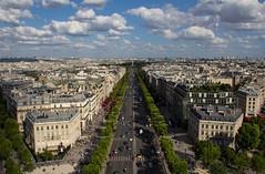 IMG_3882-2 (megscapturedtreasures) Tags: street city paris de landscape europe view arc triumph portfolio