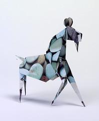 Origami création - Didier Boursin - Chèvre