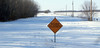 Sorry ... Road closed (`·.¸ Susan .•*´)¸.•*´) Tags: winter snow cold rural manitoba 101 hpphotosmartr740 113picturesin2013
