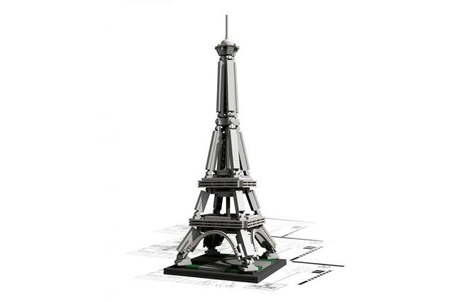 LEGO® 21019 Architecture 地標系列【艾菲爾鐵塔】The Eiffel Tower