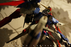 METAL BUILD DESTINY GUNDAM (KomoroPhotography) Tags: toys robot sony gundam bandai nex6 metalbuild