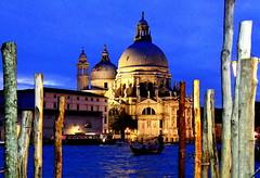 Maria Della Salute Venice (janine.greig) Tags: venice gondola bluehour mariadellasalute