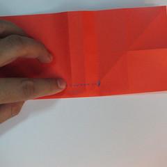 วิธีพับกระดาษพับดอกกุหลาบ 009