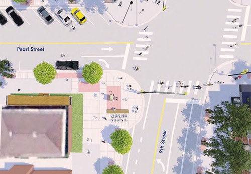 Photo - West Pearl Streetscape Improvements