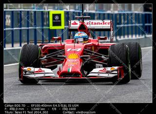 Jerez de la Frontera Formula 1 Test Session 2014