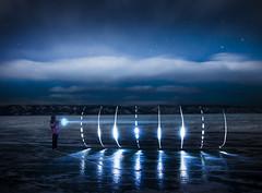 (((II))) (inhiu) Tags: longexposure light lightpainting night d800 lakebaikal olkhonisland ruassia inhiu
