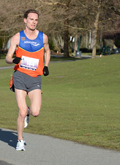 First Half Feb 16 2014 092855-1 (gherringer) Tags: canada vancouver race outdoors athletics downtown bc exercise britishcolumbia competition running seawall runners englishbay stanleypark colourful westend fit active bibs 211km 131mi vanfirsthalf