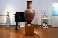 Dipylon Amphora with Beth, c. 755-750 B.C.E.