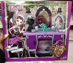 Ever After High Destiny Vanity Palyset Raven Queen (3) (Raging Nerdgasm) Tags: high vanity queen destiny after raven ever palyset