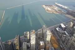 Chicago skyline, USA (Seb Quesson) Tags: city usa chicago building tower skyline illinois tour view chicagoskyline johnhancockcenter observationdeck