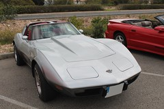 Corvette Stingray (robert's__cars) Tags: road classic grey spain stingray american 1968 corvette powerful