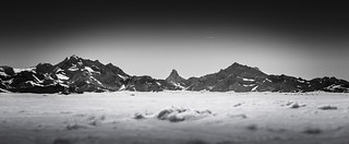 Switzerland: Valais Alps (B&W)