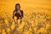 loin de la ville ('^_^ Damail Nobre ^_^') Tags: sunset portrait favorite woman sun france art love nature girl canon french photography soleil photo reflex model europe photographie photos weekend femme champs picture makeup best fave 5d mode maquillage français vacance champ francais modele markii artiste 70200mm photographe colza traitement favoris dfn damail français