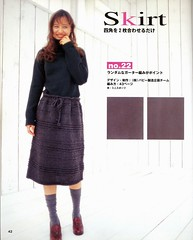 ondori my square knit_03 (Homair) Tags: wool sweater dress fuzzy mohair combo