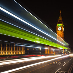 Big Ben Bus (Olly Plumstead) Tags: bridge light london westminster night canon square big long exposure cityscape ben trails parliament crop olly plumstead 5dmarkii 5d2 canon5dmarkii canon5d2