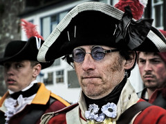 Captain Sir Edward Pellew and the Corsair Pirates (Fluffy*69) Tags: portrait character pirates plymouth barbican devon pirate 2014 corsairs edwardpellew societyofgeorgethird