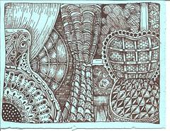 dilli zentangle zendoodle serwex fountainpenrevolution zentangeinspiredartwork