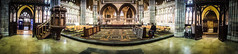 In Exeter Cathedral (DobingDesign) Tags: england heritage church stone religious worship candles cross god unitedkingdom prayer jesus gothic chapel arches christian altar holy devon exeter crucifix pillars carvedwood exetercathedral placeofworship woodenseating