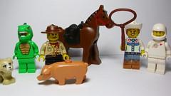 Lego Toy Story, versión Pobre (andresignatius) Tags: lego minifigures