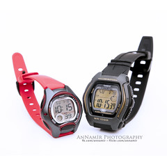 Jam Pipah & Along | Casio (AnNamir™ c[_]) Tags: nikon watch casio along bounce pipah kidswatch 2889 2672 whitestudio hd500 d300s annamir jamcasio casiohdd600 casiolw200