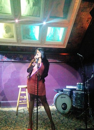 Sabine Mondestin singing
