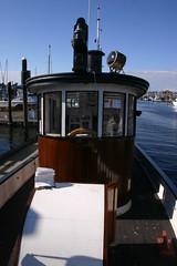 IMG_8613 - Olympia WA - tug SANDMAN at Percival Landing (BlackShoe1) Tags: washington wash olympia pacificnorthwest wa sandman tugboat pugetsound tug woodenboat washingtonstate olympiawa woodboat mvsandman