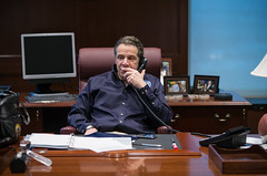 Governor Cuomo Holds Storm Briefing (governorandrewcuomo) Tags: usa snow ny newyork manhattan mta blizzard juno portauthority melissaderosa governorandrewmcuomo jimmalatras