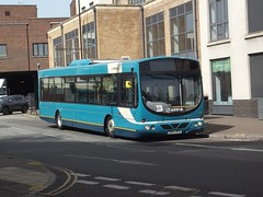 Repainted: Arriva Harlow Volvo B7RLE/Wright Eclipse Urban GN54MYO (3731) Riverside Bishops Stortford 06/05/16 (TheStanstedTrainspotter) Tags: urban bus public buses eclipse volvo riverside transport harlow stortford publictransport 510 arriva stanstedairport repaint bishopsstortford repainted wrightbus volvob7rle b7rle wrighteclipseurban arrivakentthameside gn54myo networkharlow bishopsstortfordriverside