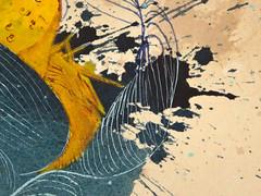 DSC09504 (scott_waterman) Tags: blue detail ink watercolor painting paper lotus gouache bluehue lotusflower scottwaterman