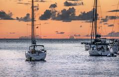 Caribbean dusk (Alida's Photos) Tags: sunset twilight sailing dusk bvi virginislands britishvirginislands virgingorda