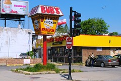 Bub's Place, Chicago (Cragin Spring) Tags: city urban usa chicago sign restaurant illinois midwest unitedstates unitedstatesofamerica fastfood chitown il northside chicagoillinois chicagoil windycity portagepark bubsplace