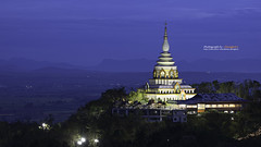 The beutiful pagoda at Ta Ton Temple, Chiang Mai (Alongkot.S) Tags: travel blue sky white art architecture modern landscape asian thailand temple design amazing asia pattern symbol background religion decoration culture style mai oriental chiang ta ton