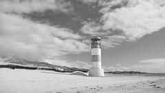 Lighthouse (coastwalker) Tags: lighthouse classic schwarzweiss leuchtturm dne helgoland coastwalker