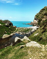 150.2016 Sunday's Spot (nonsuchtony) Tags: sea mouth inn walk devon national valley trust 365 hunters heddons