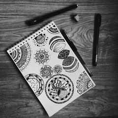 Inspiration. #mandala #zenart #zendala #doodle (tuz.ekaterina) Tags: mandala doodle zenart zendala
