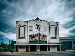 I wish I was in Dixie (Pete Zarria) Tags: louisiana cinema theater film movie palace sign neon marquee