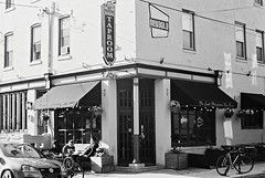 DR1-E012 (David Swift Photography Thanks for 16 million view) Tags: signs film philadelphia 35mm bars streetphotography restaurants tavern taproom ilfordxp2 streetscapes southphilly yashicat4 davidswiftphotography