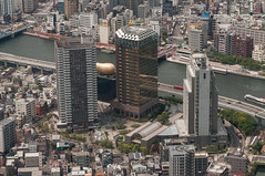 Azumabashi (TheSpaceWalker) Tags: panorama tower water japan river landscape tokyo nikon sigma panoramic 70200 observationtower d300 sumira tokyoskytree thespacewalker
