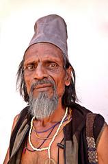 Sadhu, Street Portrait, Pushkar, India (klauslang99) Tags: portrait streetphotography klauslang sadhu india pushkar person face expression hinduism