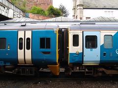 Arriva Trains Wales Class 158 (left) and 153 DMUs at Shrewsbury (Steve Hobson) Tags: wales trains class shrewsbury 158 arriva 153 dmu