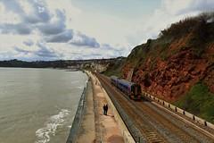 2U20 158766 | South Devon Seawall | Coastguard Bridge (Western Railway Photography) Tags: lines south great central cardiff first super class seawall devon local 158 paignton dawlish sprinter dmu westernrailway 158766 2u20