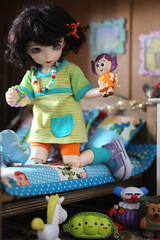 Fashion Friday - 10th June 2016 (Lucy-Loves?) Tags: doll buttercup clown tabby disney pixar bonnie bjd dolly trixie fairyland tabitha ante chuckles ltf fashionfriday toystory3 littlefee mrpricklepants thelittlecupboard