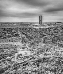 The watch tower, Grimston warren (cottagearts123) Tags: white black tower blackwhite heather norfolk infrared warren common watchtower roydon grimston roydoncommon grimstonwarren