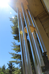 Sun Chimes (Kris_wl) Tags: sun reflection metal windchimes solarflair