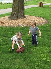 "Inde and Paul Play Football • <a style=""font-size:0.8em;"" href=""http://www.flickr.com/photos/109120354@N07/27085378106/"" target=""_blank"">View on Flickr</a>"