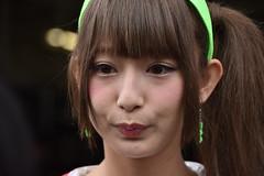 DSC_0974 (hideto_n) Tags: portrait cute girl car japan race nikon pretty racing d750 motor suzuka  motorshow rq   pitwalk racequeen        s
